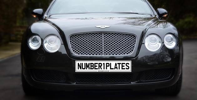 Bentley - Number 1 Plates