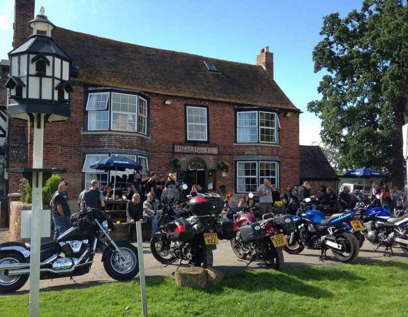 Lower Lode Inn, Biker Friendly Pub, Tewkesbury, Gloucestershire