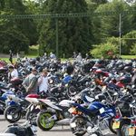 Beaulieu's Motorcycle Ride-In Day, Bikes on the Arena