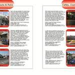 THE BIKER GUIDE - 2nd edition, booklet sample pages, cafes, pubs, meeting p