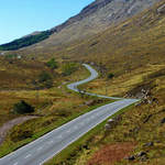 Sunart camping, Biker Friendly, Strontian, Argyll, Scottish Highlands