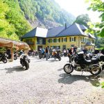 Col de Bussang, Bikers welcome, Alsace, France,