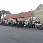 High Grange, Holiday Cottages, Bikers welcome, Bedale, Yorkshire, Parking