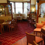Tayside Hotel, Bikers welcome, pub, Stanley, Perthshire, Scotland