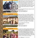 THE BIKER GUIDE - 4th edition, sample page, Accommodation