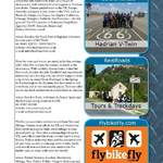 THE BIKER GUIDE - 4th edition, sample page, Touring, Travel