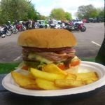 Whiteways Cafe, Biker Friendly, Sussex, Whiteways Cafe, Great Burgers