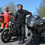 Bike4Life Ride Out Carl Fogarty and Richard Hammond