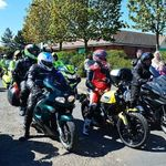 Bike4Life Ride Out 2015, Start