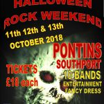Original Cruisers Presents Halloween Rock Weekender, 2018