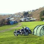 Hendre Mynach, Biker Friendly campsite, Barmouth, Snowdonia, Wales,