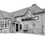 The Wyvern Pub, Biker Friendly, Church Crookham, Fleet, Hampshire
