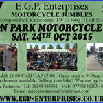 Kempton Park Motorcycle Jumble, October