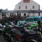 Leadburn Inn, Bike night, Midlothian, Edinburgh, Scotland