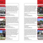 THE BIKER GUIDE - 5th edition, sample page, Cafes, Pubs