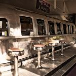 Belrepayre Airstream, Bikers welcome, bar, diner, Pyrenees, France