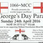 Worlds Largest Unofficial St Georges Day Parade 2016