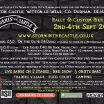 Stormin The Castle, September, Motorcycle Rally