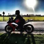 The best alarm clock is sunshine on your Motorbike, by Cindy Rush