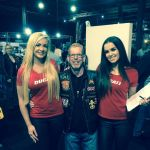 Chris Thomas - Ducati Girls were lovely