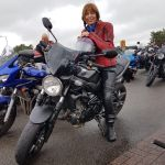 Helen Millward - at the worlds largest all female biker meet 2017