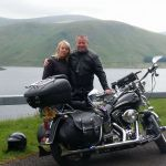 Steve and Angie Purdie on a trip to Scotland