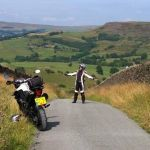 Dropping off the edge in the Peak District from Andrew Cooke