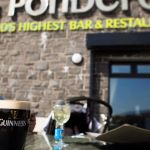 The Ponderosa Bar, Bikers welcome, food, music, Dungiven, Derry, Ireland