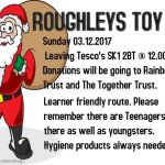 Roughleys Toy Run 2018