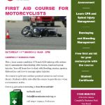 First Aid Course for Motorcyclists with free First Aid Kit, Cardiff, Wales