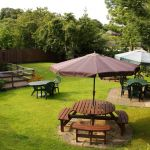 Glenbank House Hotel, Biker Friendly, Jedburgh, Scotland Borders, gardens