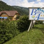 Bella Austria, Bikers welcome, mobile home and camping park, Steiermark, Au