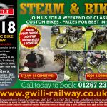 Gwili Steam Railway Classic Bike Show - Carmarthenshire, Wales