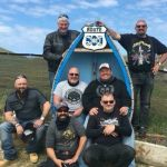 Craig, Steve, Fran, Stuart, Jason, Paul and Steve of Harley Davidson Riders