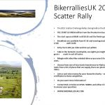 Scatter Rally, daytime event, Newcastle Upon Tyne, Northumberland