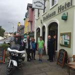 Rathbaun Hotel, Bikers welcome, Co Clare, Ireland