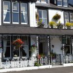 Buchan Guest House, Bikers welcome, Moffat, Dumfries, Scotland, parking