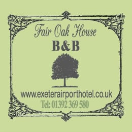 fair oak house sign parking exeter airport drop off