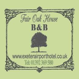 fair oak house sign parking exeter airport drop off
