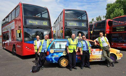 Bus depot visit