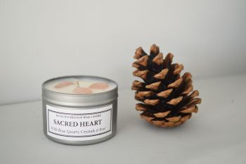 Sacred Heart Soy Candle Tin