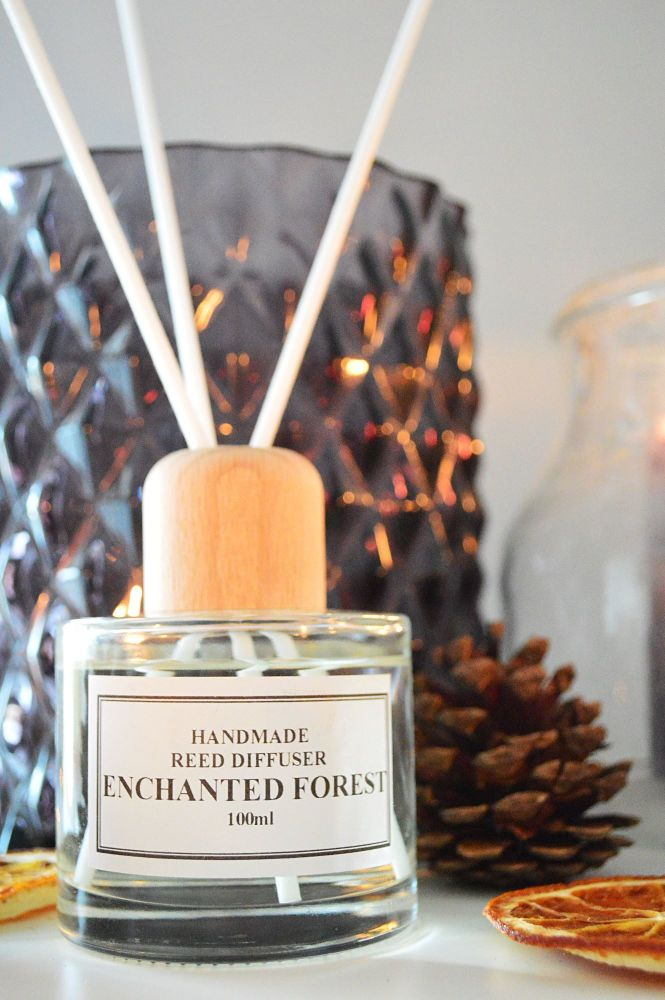 Reed Diffuser -100ml - Enchanted Forest - Gift Boxed