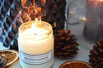 Moonlit Jasmine Soy Candle