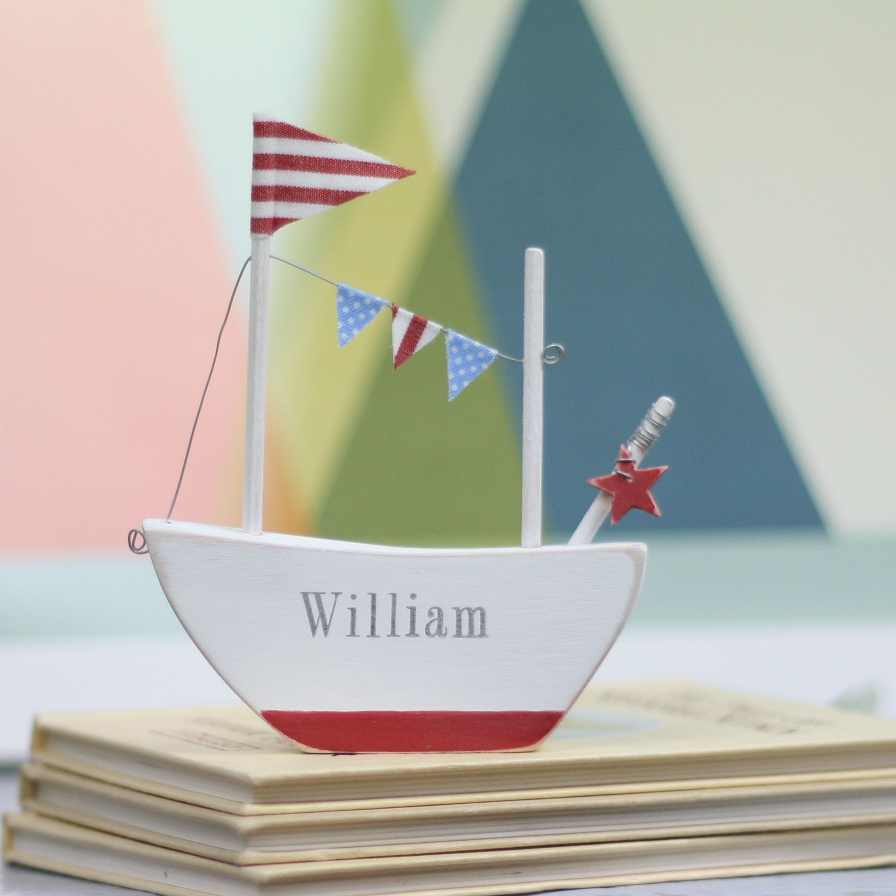 Personalised Mini Boat