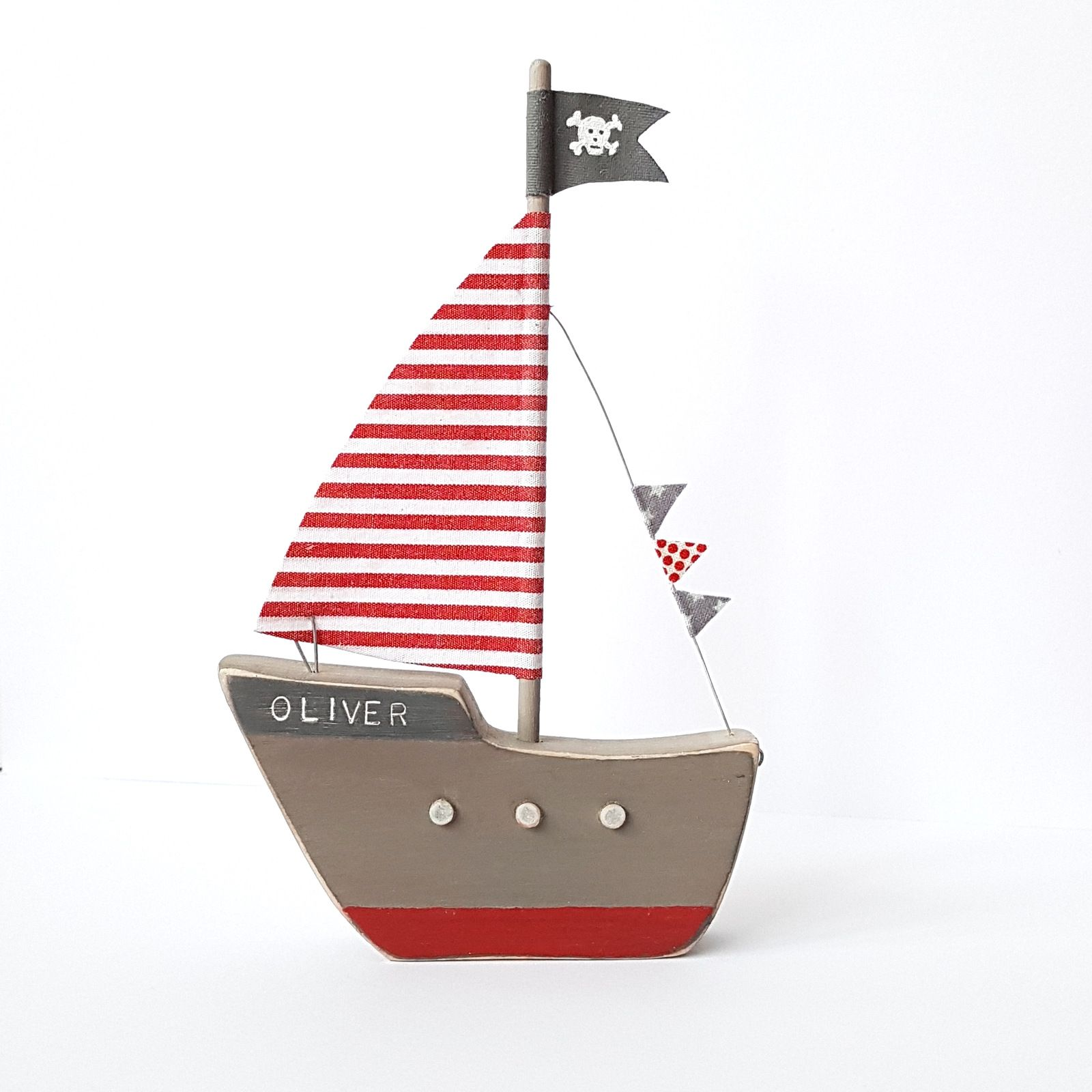 Personalised Pirate Ship