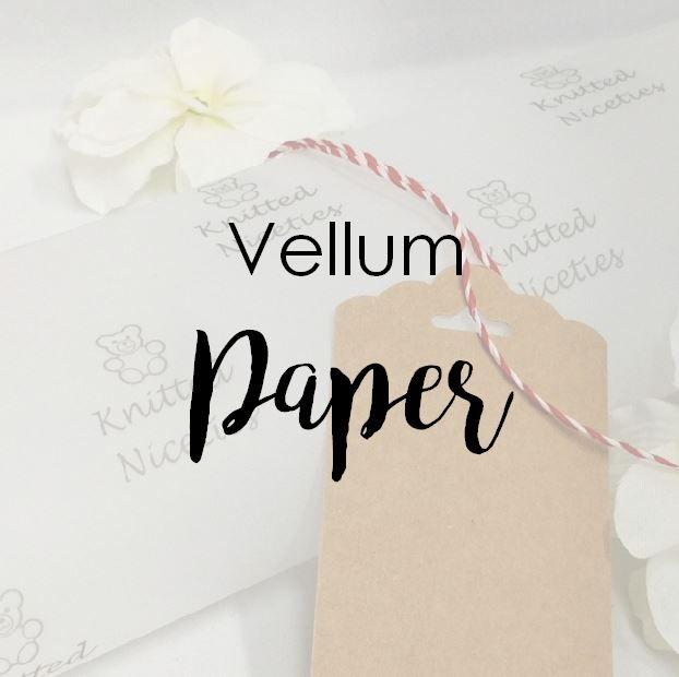 Vellum Printed Paper