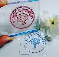 Medium Custom Stamp