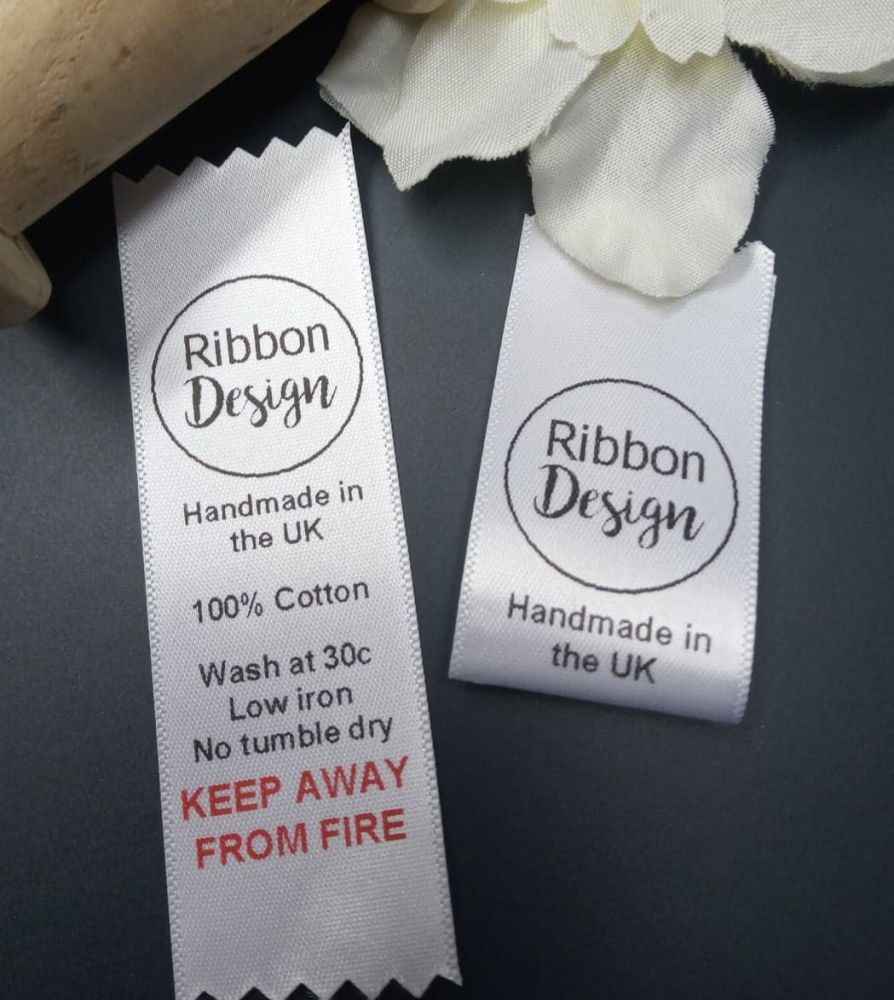 25mm Sewing labels