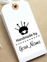 Pincushion Personalised Stamp