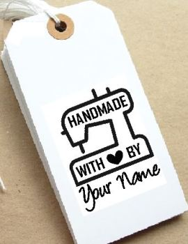 Sewing Machine Personalised Stamp